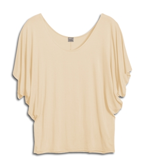 Plus Size Dolman Sleeve Top Stone
