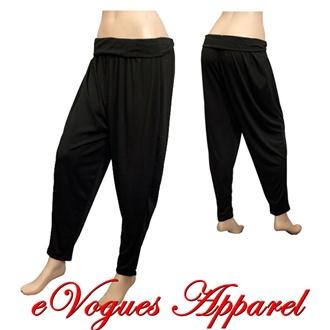 Cool  Baggy Loose Cargo Pants Wide Boyfriend Combat Trousers Jeans  EBay