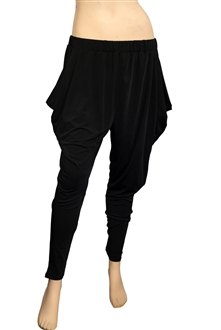 Plus Size Harem Pant Black Price $24.99