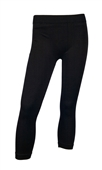 Black Slinky Stretchy Plus Size Calf Legging
