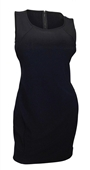 Plus size Sleeveless Bodycon Mini Dress Black