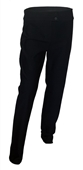 Plus size Double Button Pants Black