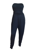 Plus Size Jumpsuit Navy