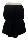 Plus size Tube Top Black