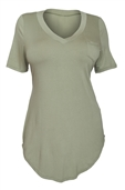 Women's Ballet Tunic Top Sage