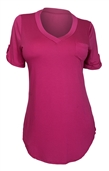 Women's Ballet Tunic Top Fuchsia